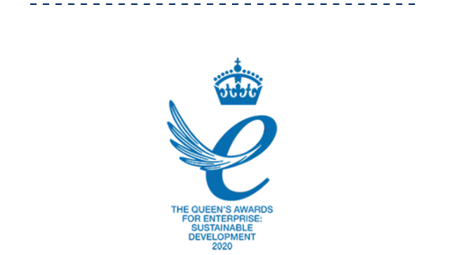 The Queen's awards for enterprise: sustainable development 2020.